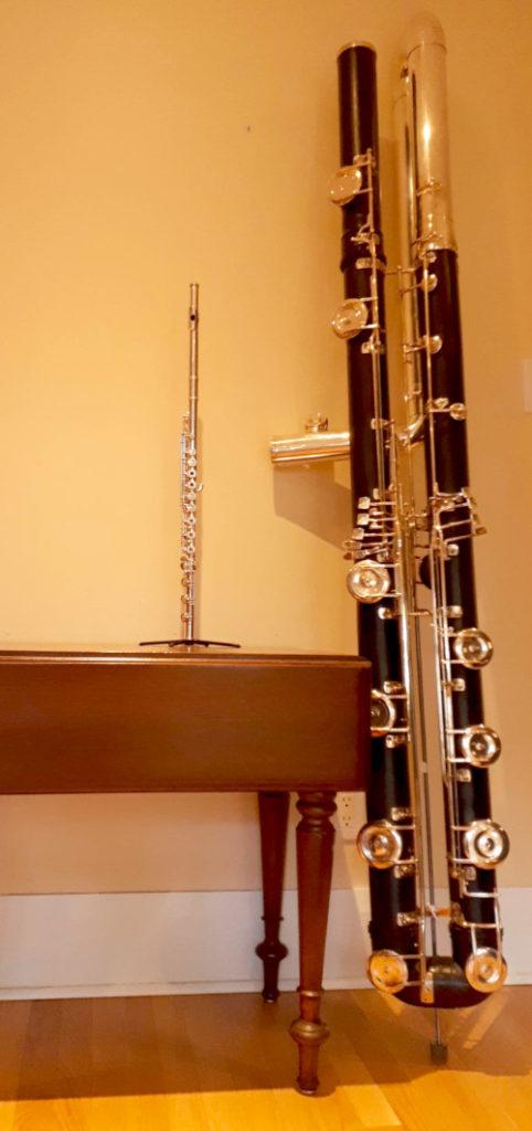 The Flutes – Flute Street  Double Contrabass Flute Case